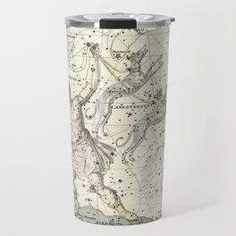 Constellations Bootes, Canes Venatici - Celestial Atlas Plate 7 Alexander Jamieson Travel Mug