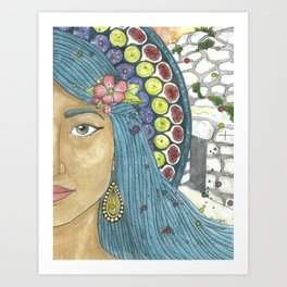 Martha of Bethany Art Print