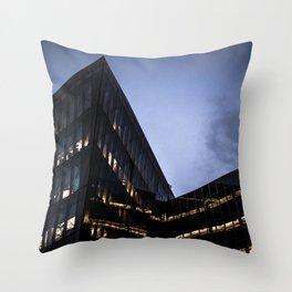 Silicon dock Throw Pillow