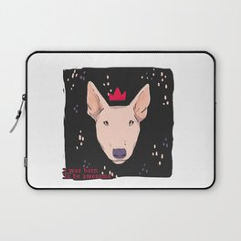 Bullterrier was born to be awesome Laptop Sleeve