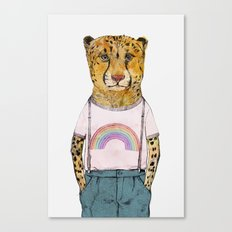 Little Cheetah Canvas Print