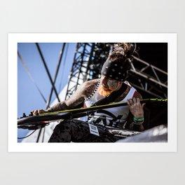 Fieldy at Soundwave Art Print