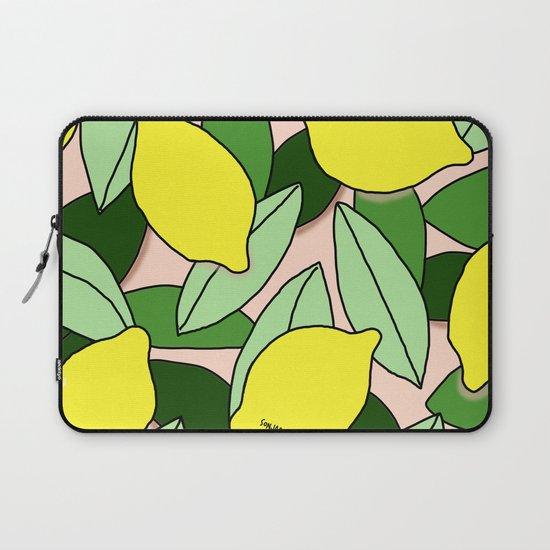 Lemons - Lemon Pattern - January by sonjabajic