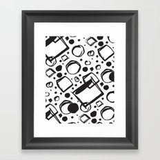 ABSTRACT 011 Framed Art Print