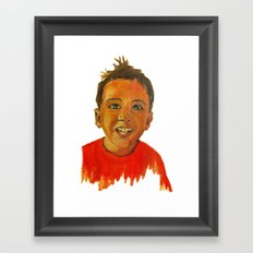 Raul Framed Art Print