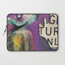 Right turn only Laptop Sleeve