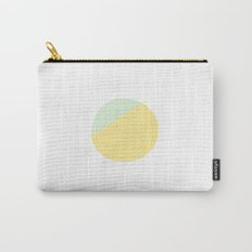 Retro Mod Flower #2 by Friztin Carry-All Pouch