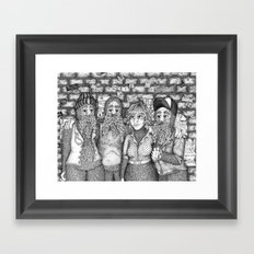 Closing Time Framed Art Print