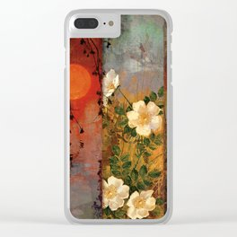 Whisper Forest Moon Clear iPhone Case