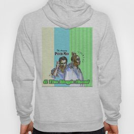 The Amazing Psych-Man & The Magic-Head - Psych quotes Hoody
