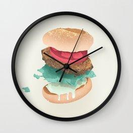 Burger Porn Wall Clock