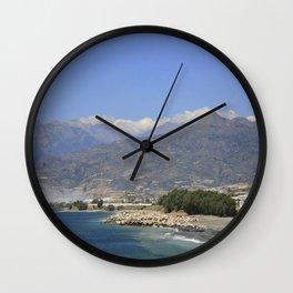 Crete, Greece 8 Wall Clock
