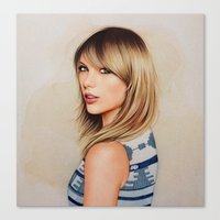 1989 Canvas Prints featuring Taytay 1989 by The Art Of Dreams