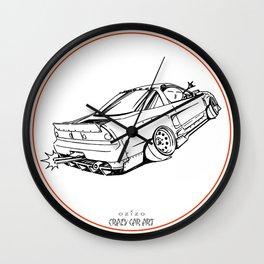 Crazy Car Art 0191 Wall Clock