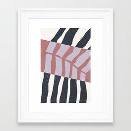 Papercuts I Framed Art Print