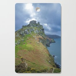 CASTLE ROCK VALLEY OF THE ROCKS EXMOOR DEVON Cutting Board
