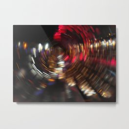 spiral abstract background Metal Print