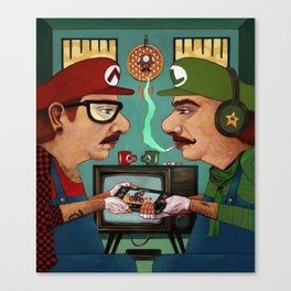 Gamers Canvas Print