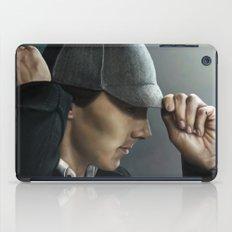Sherlock and his deerstalker iPad Case