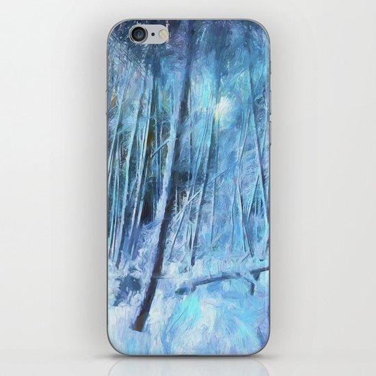 Winter Moonlight iPhone & iPod Skin