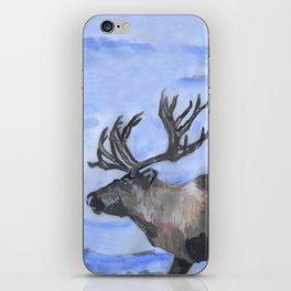 Reindeer - by Fanitsa Petrou iPhone Skin
