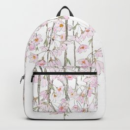 pink cherry blossom spring 2018 Backpack