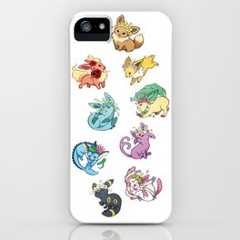Eeveelutions iPhone Case