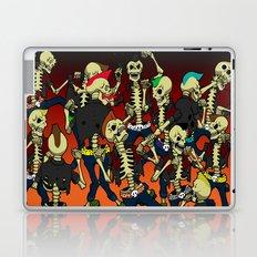 Psychobilly Brawl Laptop & iPad Skin