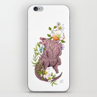 godzilla iPhone & iPod Skins featuring Godzilla by Lionel Hotz