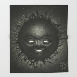 Black Star Throw Blanket