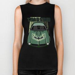 Firebird Transam 73 - Green & Black Biker Tank