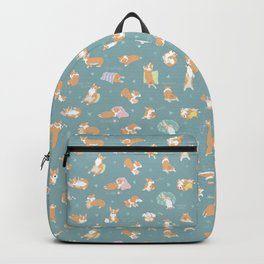 Corgi Day After Night Party With Fairies Backpack