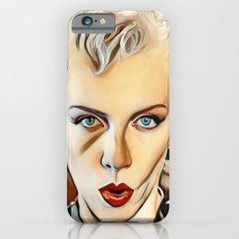 Annie Lennox iPhone Case