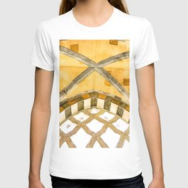 The Golden Arches of the Amalfi Cathedral in Amalfi, Italy T-shirt