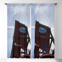 Clock Tower Blackout Curtain