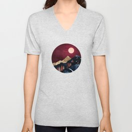Autumn Night Unisex V-Neck