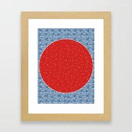 Sunrise. Framed Art Print