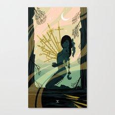 10 of Swords Canvas Print