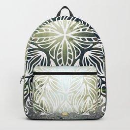 Mandala Forest Fog Road Backpack