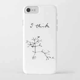 Darwin - Tree of Life - I Think iPhone Case