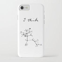 Darwin - Tree of Life - I Think iPhone Case
