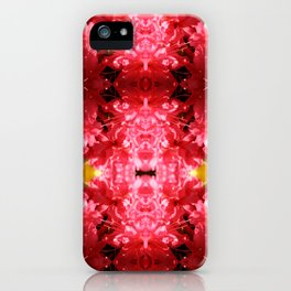 Flower Burst iPhone Case