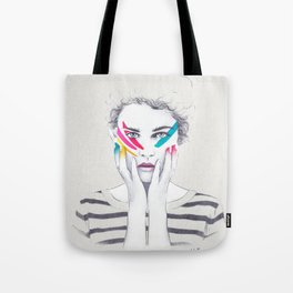 War Paint Ramona Tote Bag