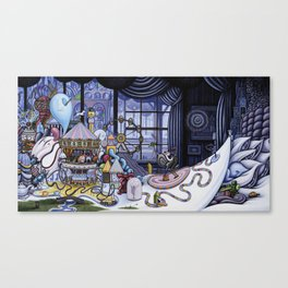 The Arrival Canvas Print