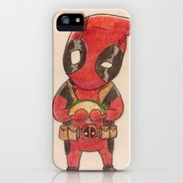 Maximum Taco Effort... yeah that's a thing. iPhone Case