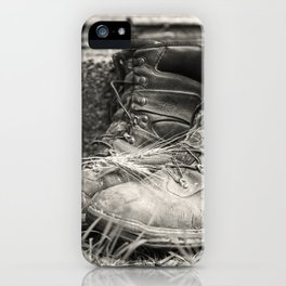 Farmer's Boots 1 iPhone Case