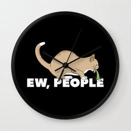 EW, PEOPLE Wall Clock