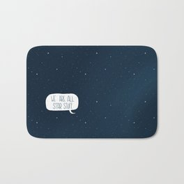Star Stuff (Science Fiction Wrapping Paper No. 2) Bath Mat