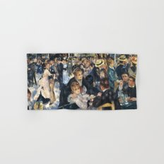 Dance at Le Moulin de la Galette by Renoir Hand & Bath Towel