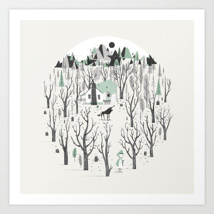 Black Forest Art Print